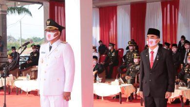 Photo of Bupati Rocky, Pimpin Upacara HUT RI-75 Aceh Timur