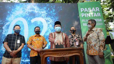 Photo of Luncurkan Aplikasi Pasar Pintar, Belanja Di Pasar Kota Bandung Online Saja